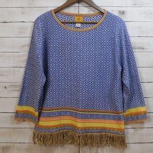 Vintage feel Boho Sweater